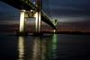 Verrazano Bridge & Shore Road at Dusk