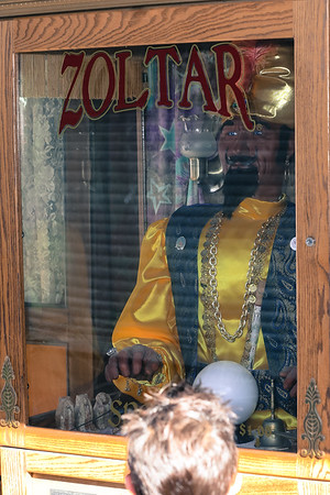 Zoltar Machine in Coney Island