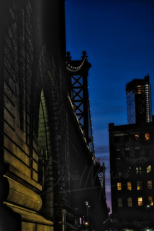 Manhattan Bridge at Dusk