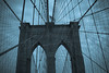 Brooklyn Bridge Arch & Cables