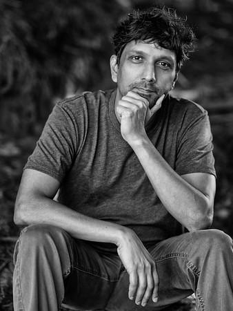 Portrait of  Dr Karthik Ram