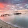 Sunrise over the Wharf at Capitola, CA
