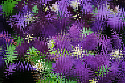 Flowera under glass.