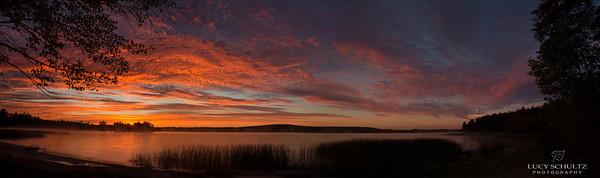 Androscoggin Lake Panorama