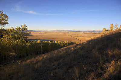 South Park, CO, from Kenosha Pass