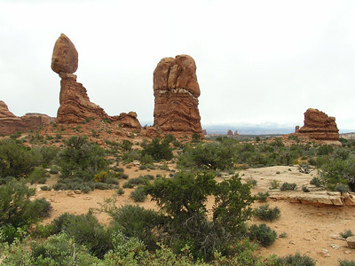 Balanced Rock in Arches National Park, UT