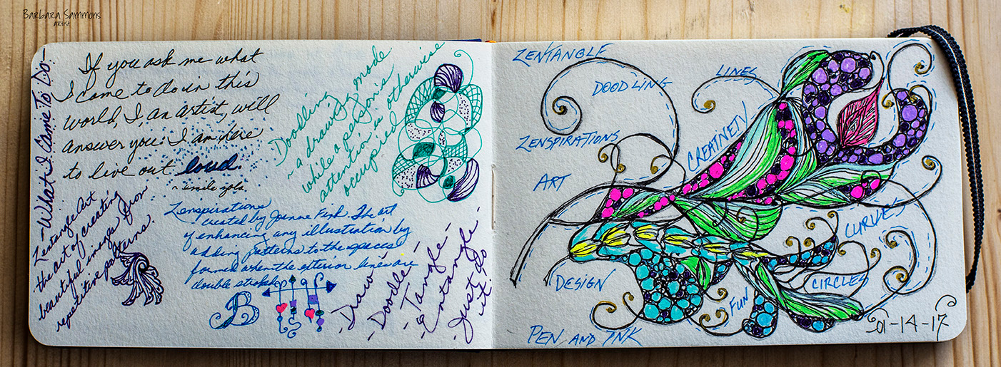 Page from Notebook