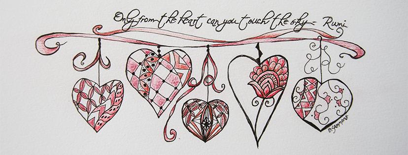 Valentine Zentangle