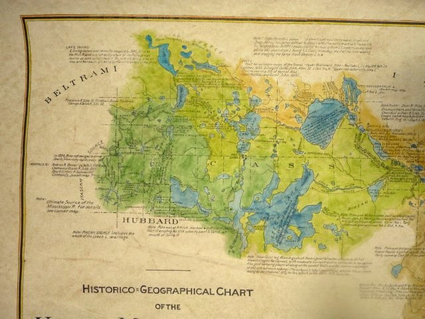 historico-geographical chart zeb pike