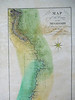 detail, Map of the Course of the Lower Mississippi, approximately 1803.<br /> <br /> No Cartographer credited. New Madrid is on this map, and Natchez, but Mostly it identifies areas of swam, bluffs, tributaries, etc.