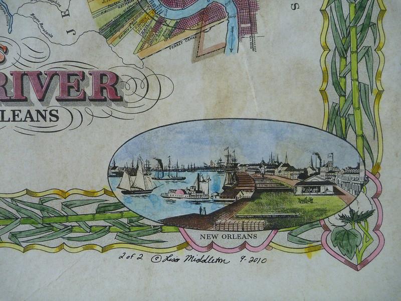 New Orleans detail, plantation 1
