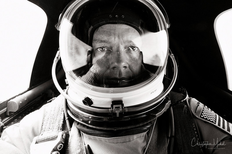 Self-Portrait in a U-2