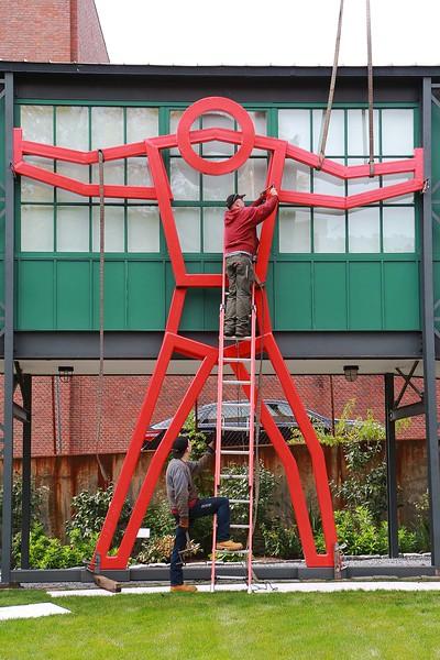 New Sculpture at Fitchburg Art Museum