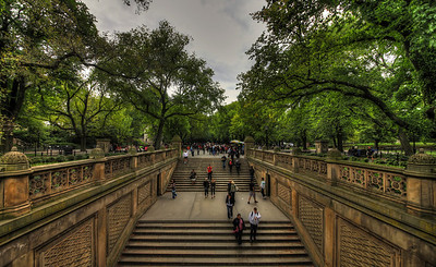 Stairs in Central Park