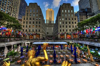 Sunken Plaza at Rockefeller Center