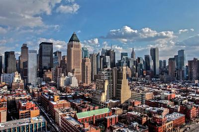 Midtown Manhattan in the Winter Sun