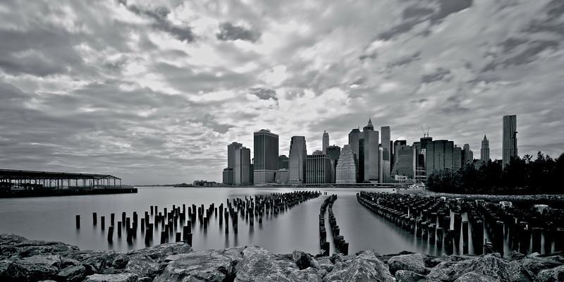 Lower Manhattan seen from Brooklyn Bridge Park