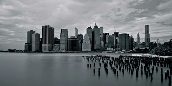 Lower Manhattan seen from Brooklyn Bridge Park (Version 2)
