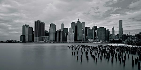 Lower Manhattan seen from Brooklyn Bridge Park (Version 2)