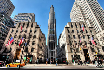 Rockefeller Center - Midtown Manhattan