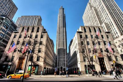 Rockefeller Center - Midtown Manhattan