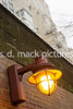 New York – January 9:  Subway Lamp on 59th Street Central Park South at Fine Art Photos.  (Photo by Steve Mack/S.D. Mack Pictures).