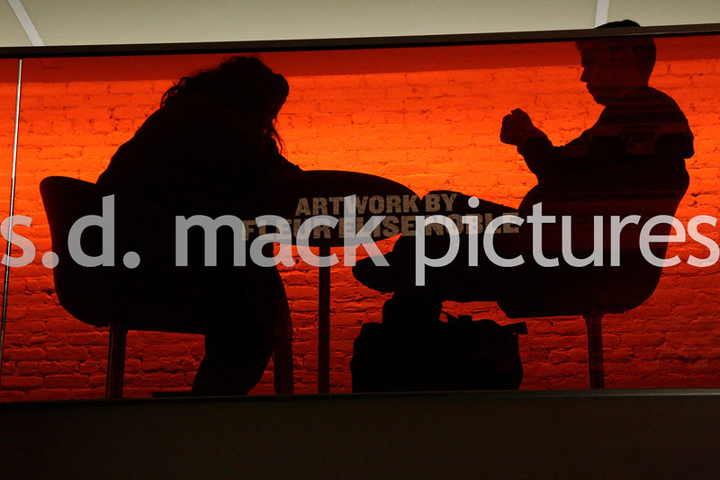 New York – January 9:  The Coffee Break at Fine Art Photos.  (Photo by Steve Mack/S.D. Mack Pictures).