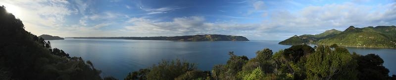 NZA-21 Huia Heads Panorama
