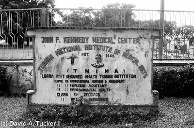 JFK Hospital in Monrovia