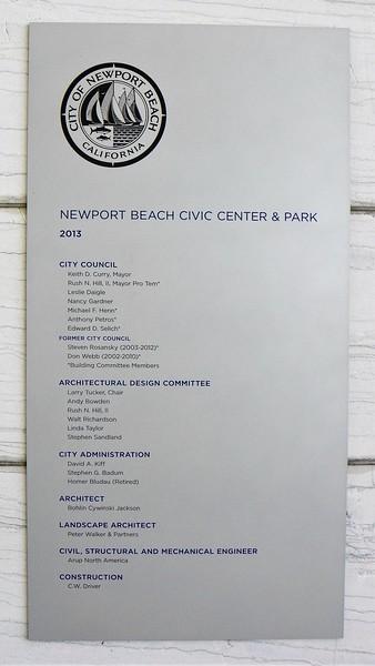 Newport Beach Civic Center - 1