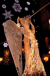 Herald Angel @ Rockefeller Center.