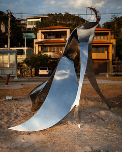 Obsession, John Fitzmaurice - Swell Sculpture Festival 2012, Dawn Visit; Currumbin, Gold Coast, Queensland, Australia; 21 September 2012. Photos by Des Thureson.