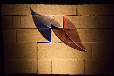 That First Kiss, Michael Bulloch - Swell Sculpture Festival 2012, Night Visit; Currumbin, Gold Coast, Queensland, Australia; 20 September 2012. Photos by Des Thureson.