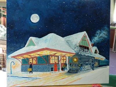 DSCN1248 Night Train,start on foreground , june 15, 2012