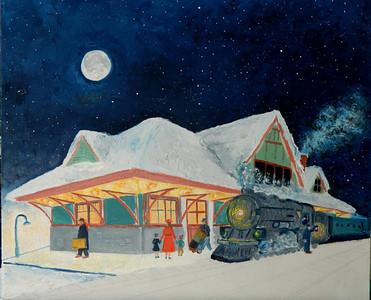 DSCN1247 Night Train, added in stars in the sky, june 13, 2012