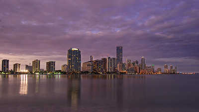 Brickell in Purple  Camera: Nikon D40 // Location: South Florida //