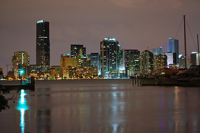 Brickell at Night  Camera: Nikon D40 // Location: South Florida //