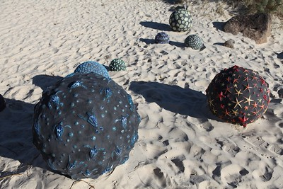 Tumbling Tides, Leisa Russell - Swell Sculpture Festival 2013, Visit 1; Currumbin, Gold Coast, Queensland, Australia; 18 September 2013. Photos by Des Thureson