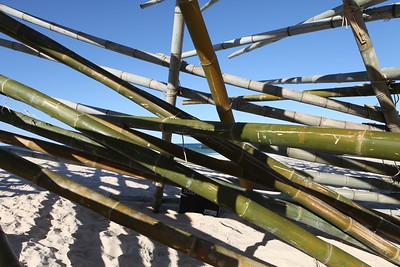 De oogst (The Harvest), Georges Cuvillier - Swell Sculpture Festival 2013, Visit 1; Currumbin, Gold Coast, Queensland, Australia; 18 September 2013. Photos by Des Thureson