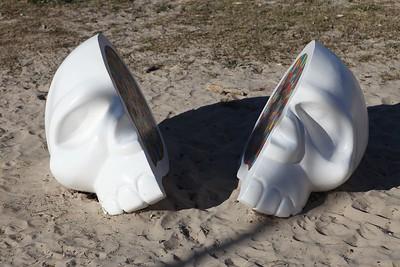 Colourful Mind, Dion Parker - Swell Sculpture Festival 2013, Visit 1; Currumbin, Gold Coast, Queensland, Australia; 18 September 2013. Photos by Des Thureson