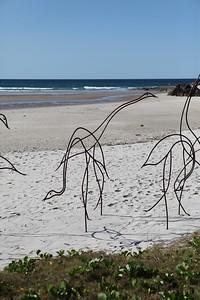 Water Birds, Jim Blower - Swell Sculpture Festival 2013, Visit 1; Currumbin, Gold Coast, Queensland, Australia; 18 September 2013. Photos by Des Thureson
