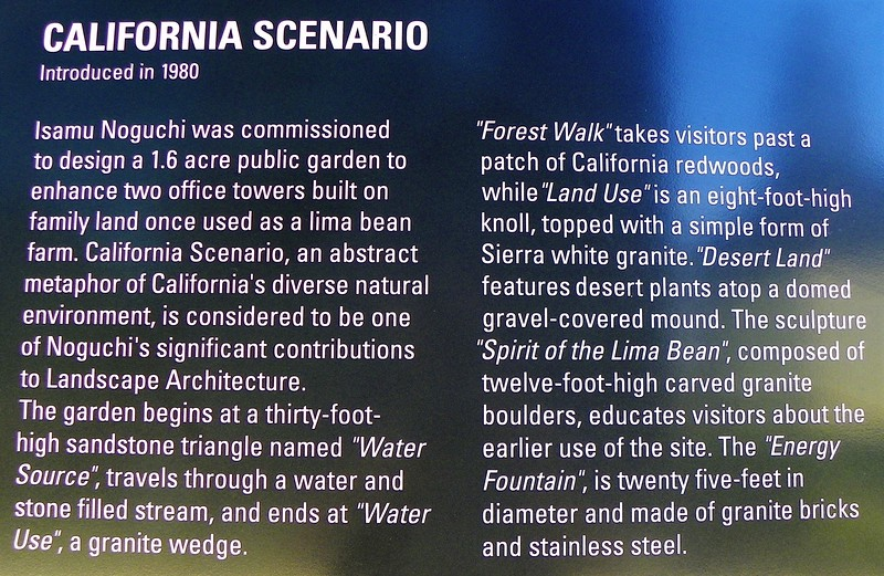 "The Plan - read more here - <a href=""https://www.kcet.org/history-society/california-scenario-isamu-noguchis-hidden-public-sculpture-garden-in-orange-county"">https://www.kcet.org/history-society/california-scenario-isamu-noguchis-hidden-public-sculpture-garden-in-orange-county</a>"