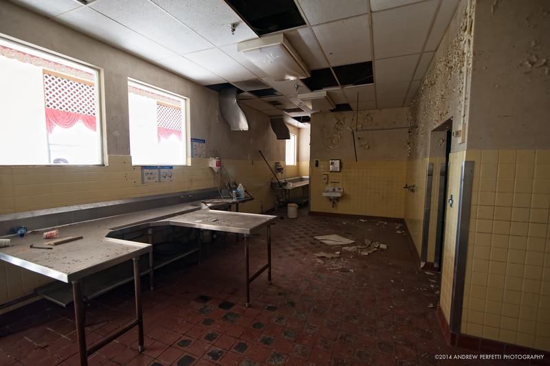 Empty Prep Room