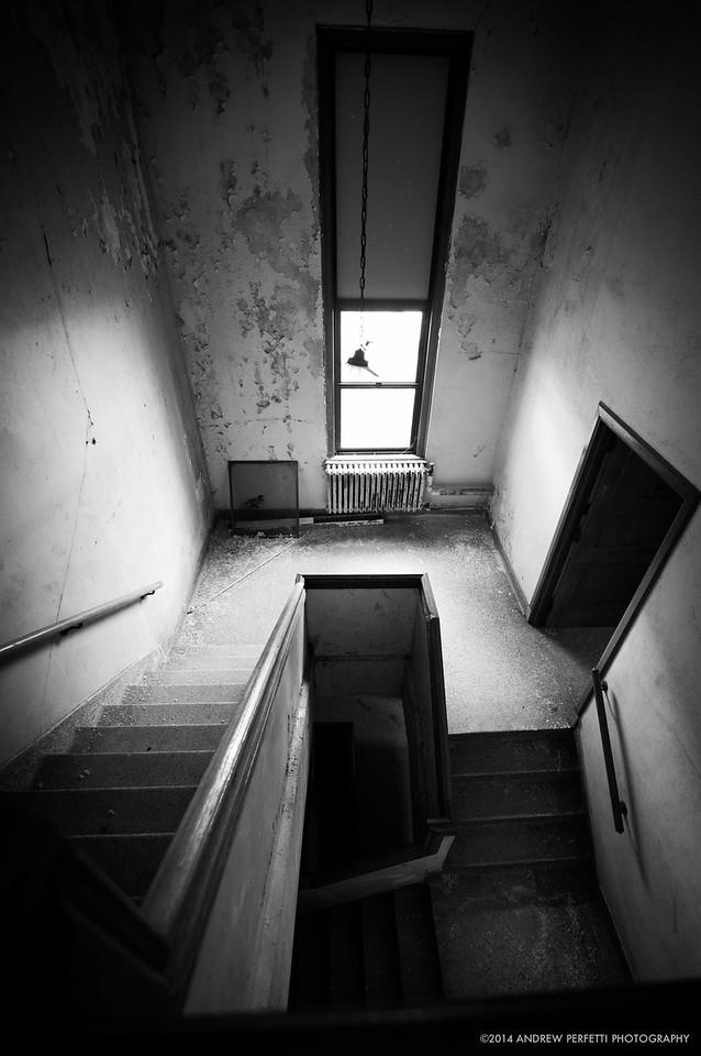 Empty Hallway in the Workers Quarters #2
