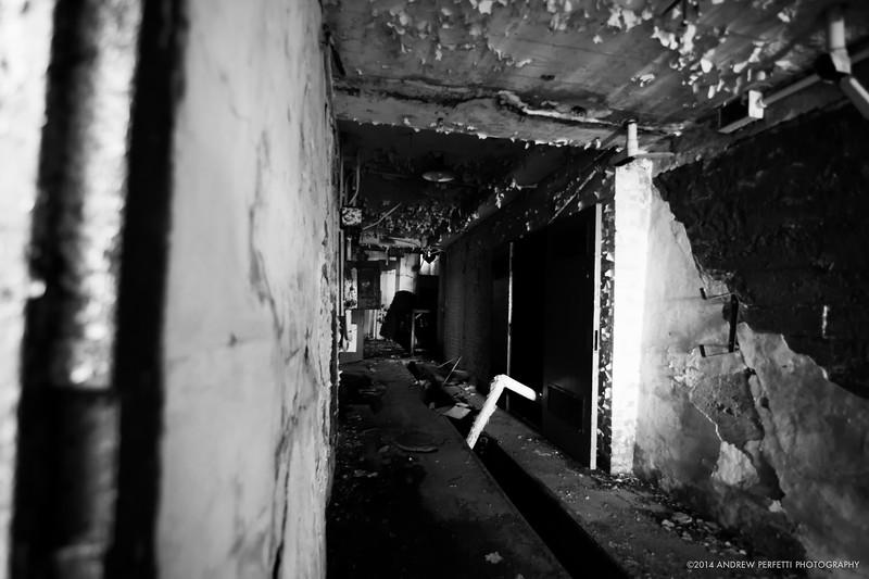 Crematorium Hallway