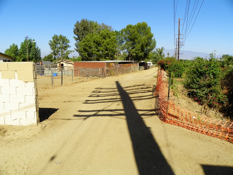 Park near the west side of the Color Green Wholesale Nursery. Walk down this horse trail.