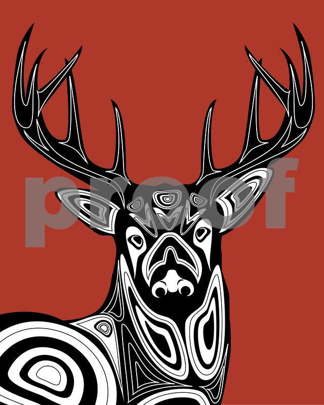 Deer: Pacific Northwest Indian Art by John Longfellow