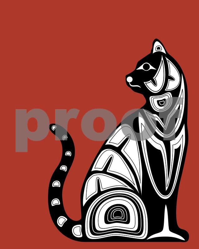 Cat: Pacific Northwest Indian Art by John Longfellow