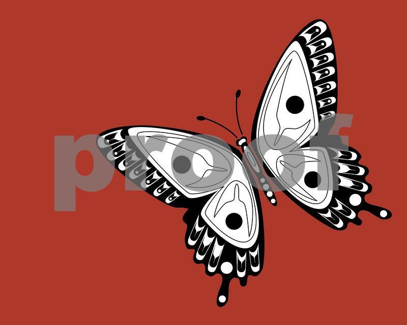 Butterfly: Pacific Northwest Indian Art by John Longfellow