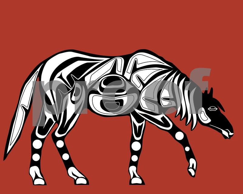 Tired Horse: Pacific Northwest Indian Art by John Longfellow